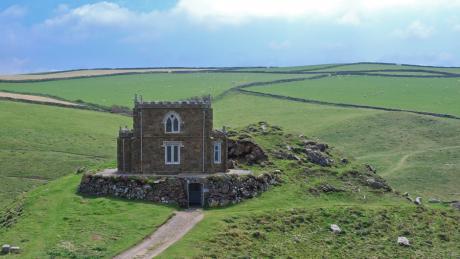 Pleasant Doyden Castle Port Quin Cornwall National Trust Cottages Interior Design Ideas Pimpapslepicentreinfo