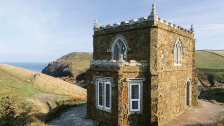 Fantastic Doyden Castle Port Quin Cornwall National Trust Cottages Interior Design Ideas Pimpapslepicentreinfo
