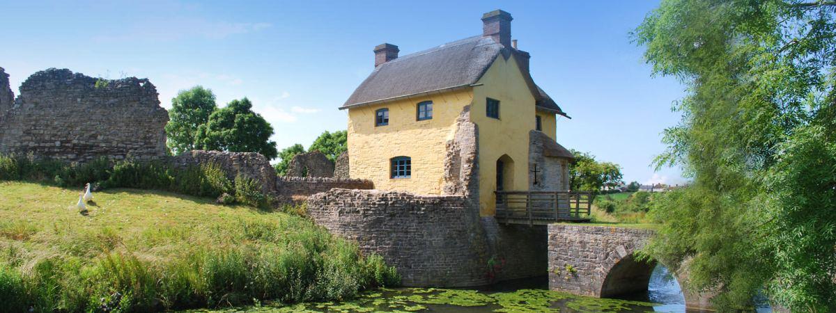 Stogursey Castle Nr Bridgewater Somerset The Landmark
