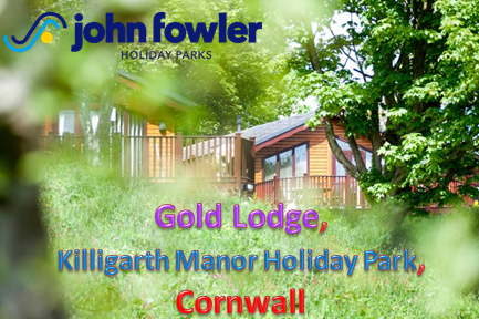 2 Bedroom Gold Lodge, Killigarth Manor Holiday Park, Cornwall, UK