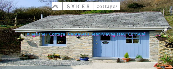 Sykes Cottages – Kingfisher Cottage, Pentewan near Mevagissey, Cornwall