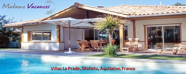 Villas La Prade, Moliets, Aquitaine,France