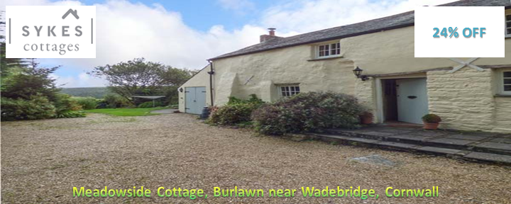 Meadowside Cottage, Burlawn near Wadebridge, Cornwall