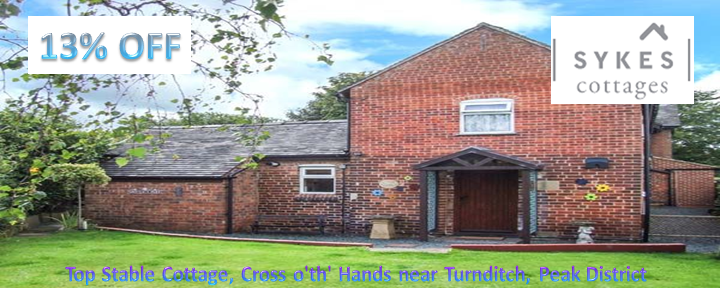 Top Stable Cottage, Cross o'th' Hands near Turnditch, PeakDistrict