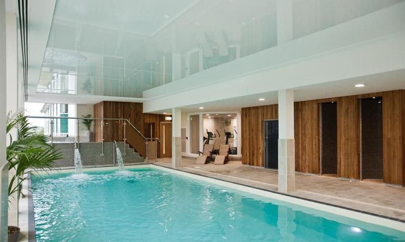 Indoor heated swimming pool at The Dartmouth Spa
