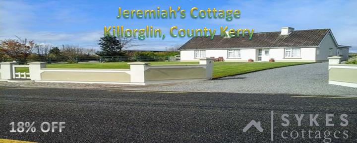 Sykes Cottage – Jeremiah's Cottage, Killorglin, County Kerry