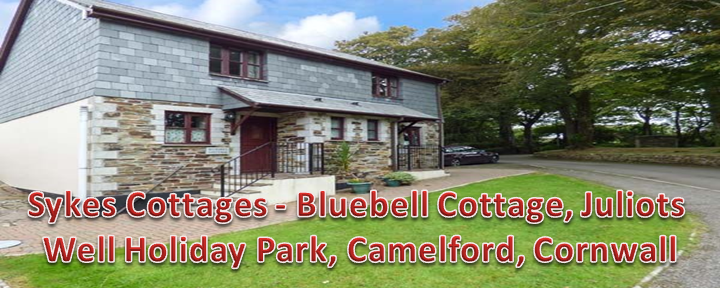 Sykes Cottages – Bluebell Cottage, Juliots Well Holiday Park, Camelford, Cornwall