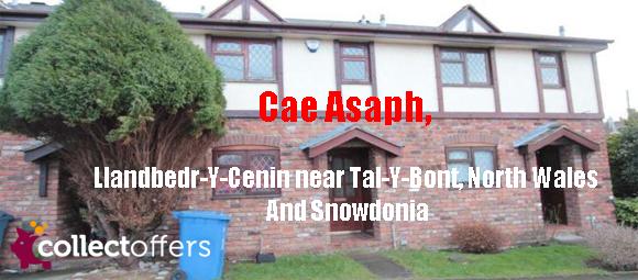 Cae Asaph, Llandbedr-Y-Cenin near Tal-Y-Bont, North Wales AndSnowdonia