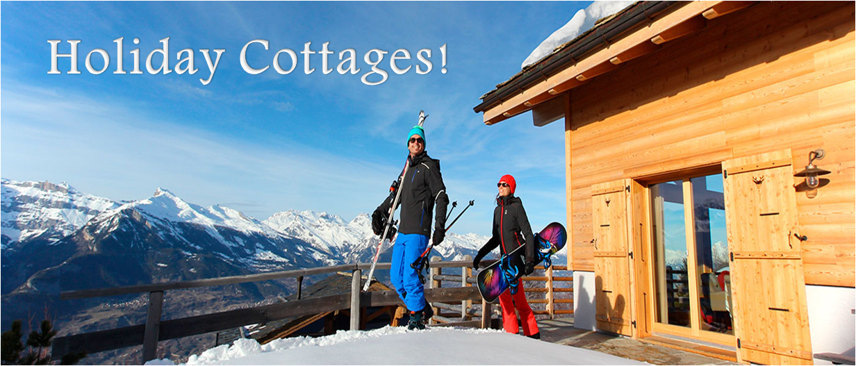 4 Best Holiday Cottages To Spend Your Winter Vacation!